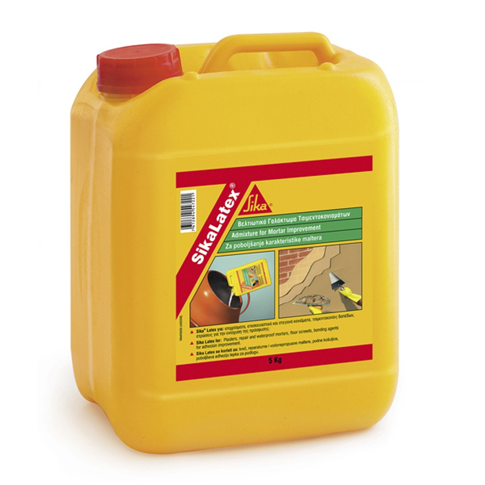 Comprar sika latex 25l emulsion adhesiva mortero productos for Productos sika para piscinas
